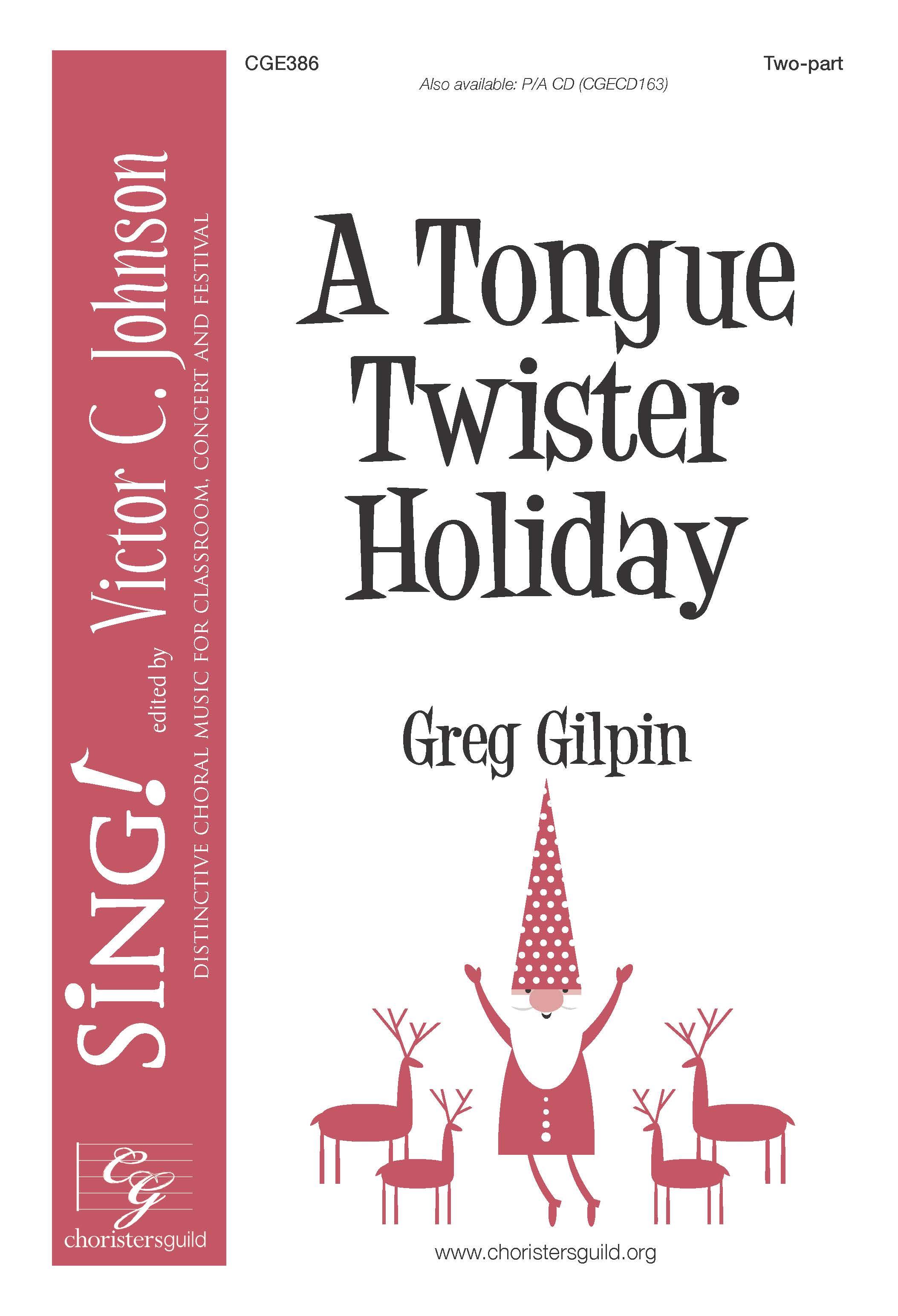 Tongue Twister Holiday, A | Greg Gilpin