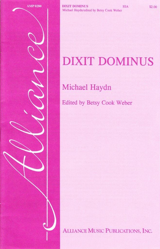Dixit Dominus | Johann Michael Haydn | ed. Betsy Cook Weber