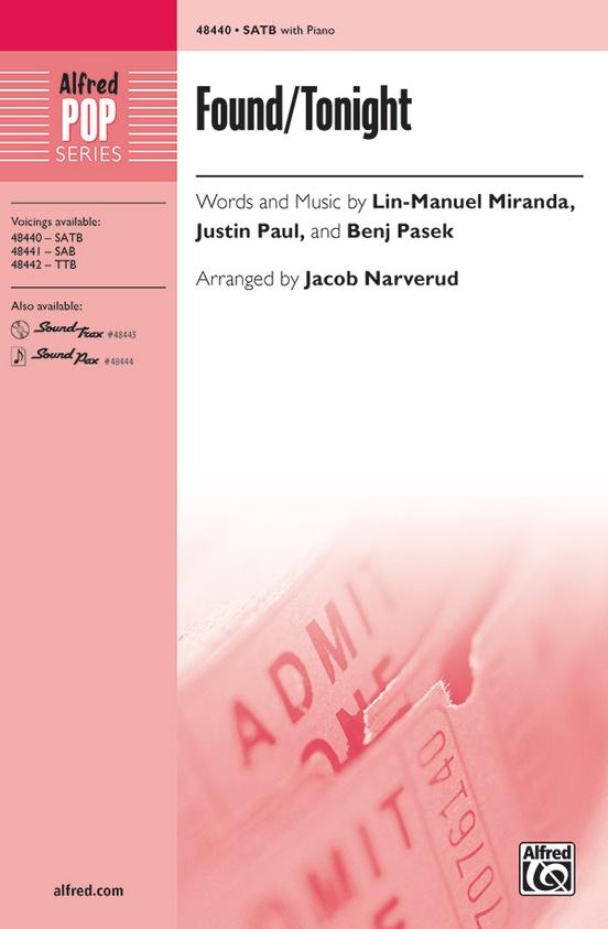 Found/Tonight from Dear Evan Hansen and Hamilton | arr. Jacob Narverud | Lin-Manuel Miranda, Justin Paul, Benj Pasek