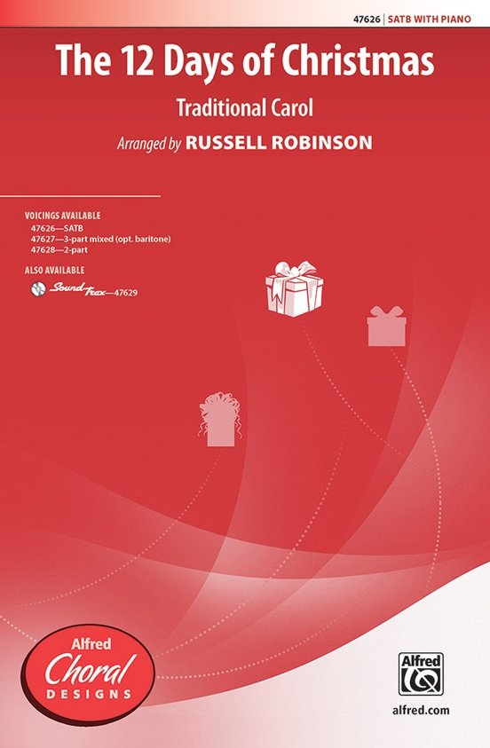 12 Days of Christmas, The   arr. Russell Robinson