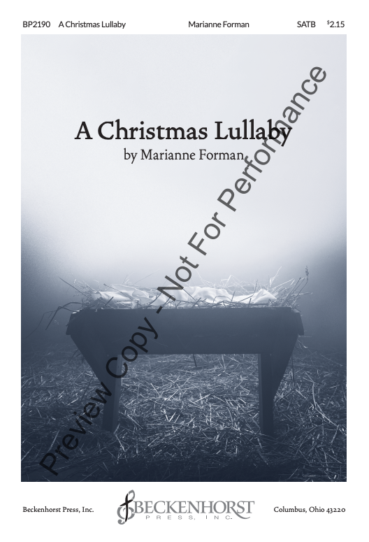 Christmas Lullaby, A | Marianne Forman