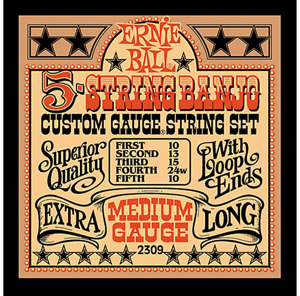 Banjo strings 5 str loop end - 2309