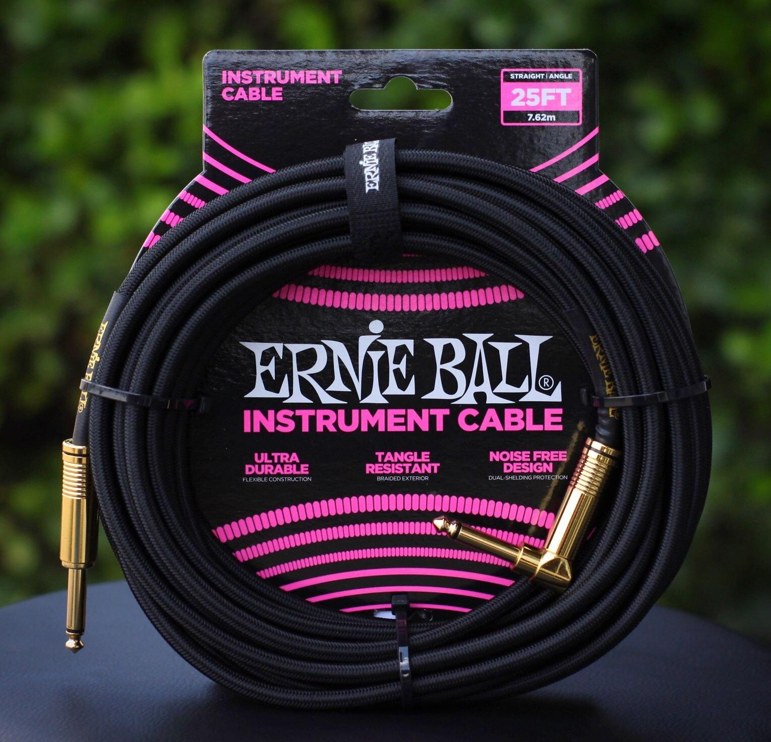 25ft. Instrument Cable-Black