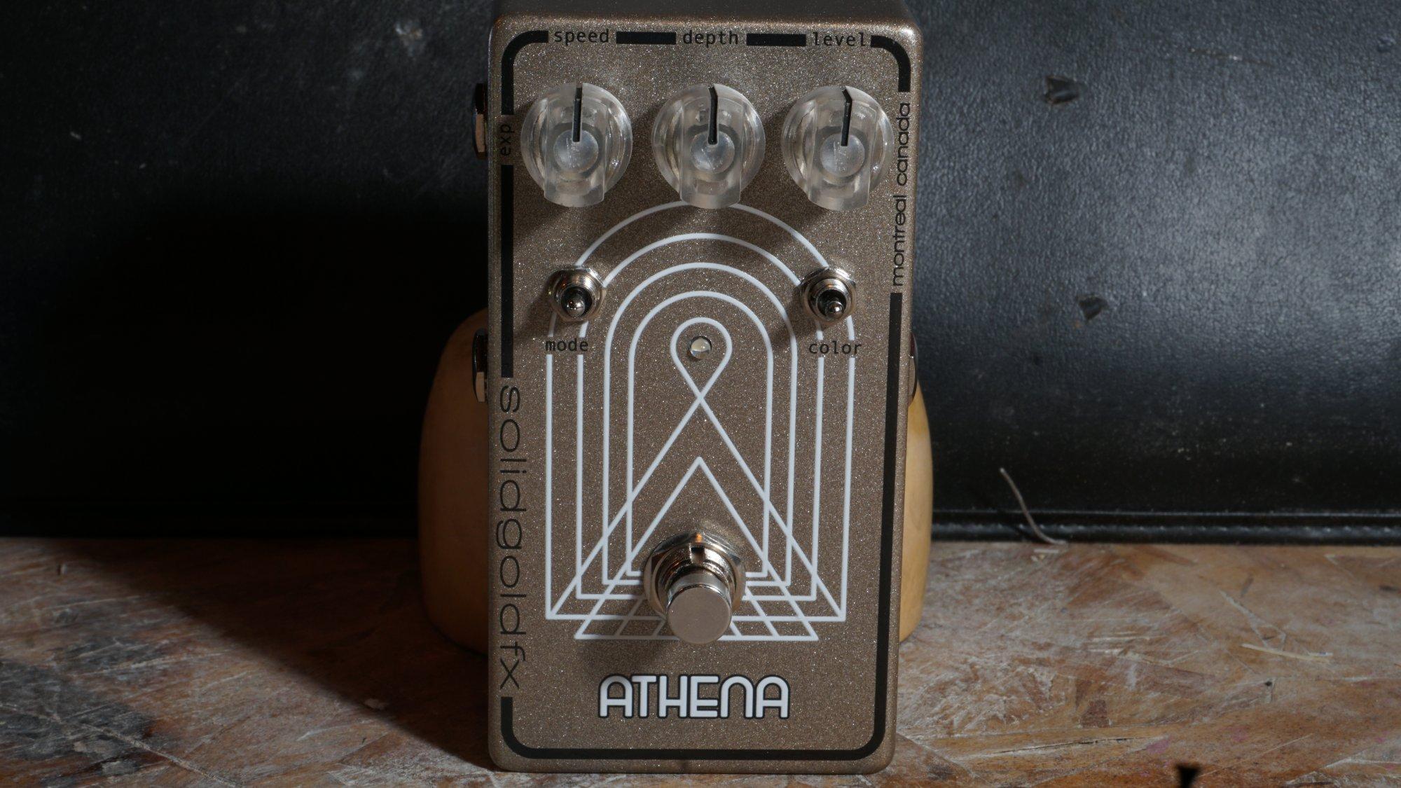 Athena molten bronze