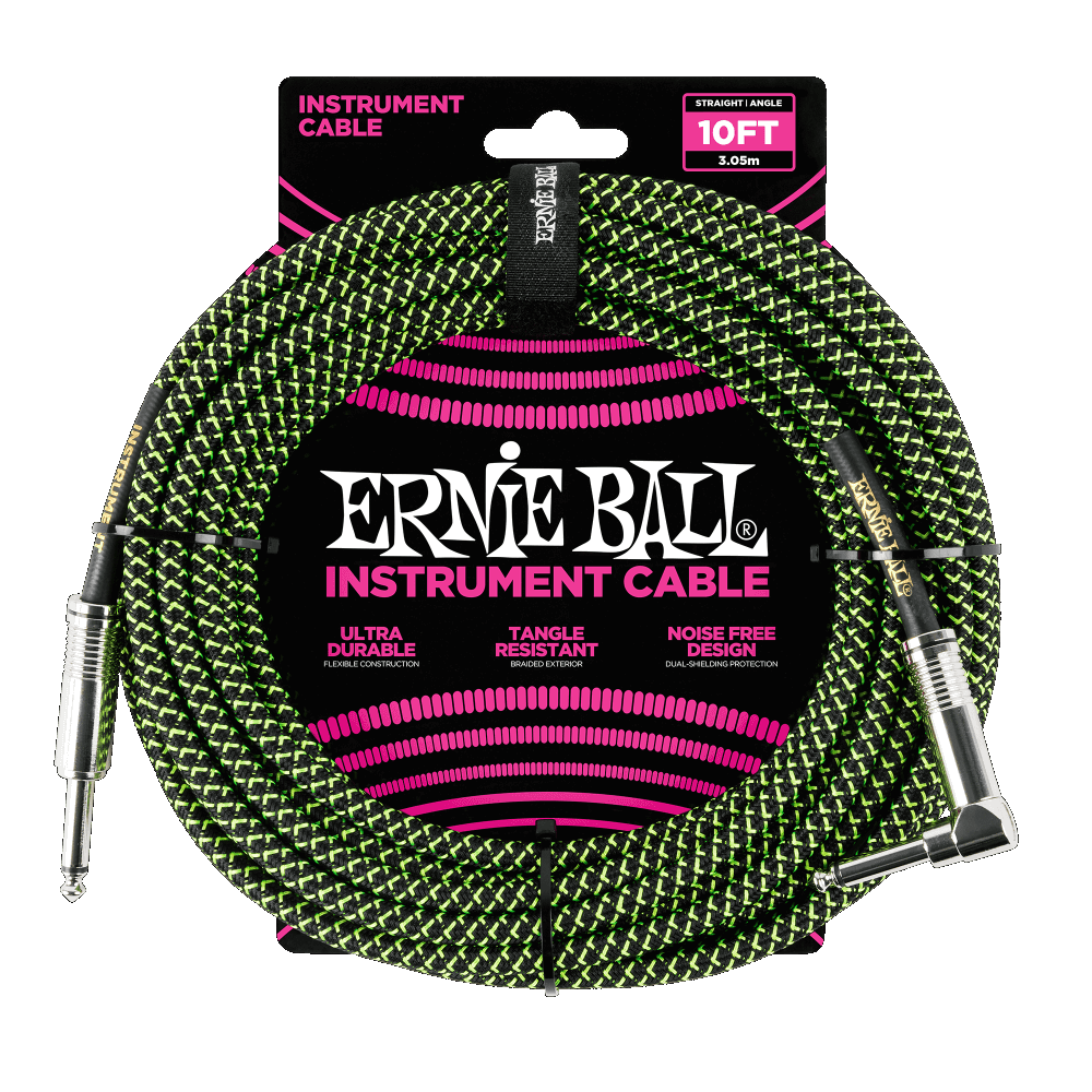 25ft. Instrument Cable-Green