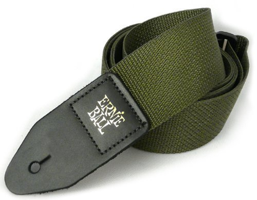 Army Green Nylon Guitar Strap
