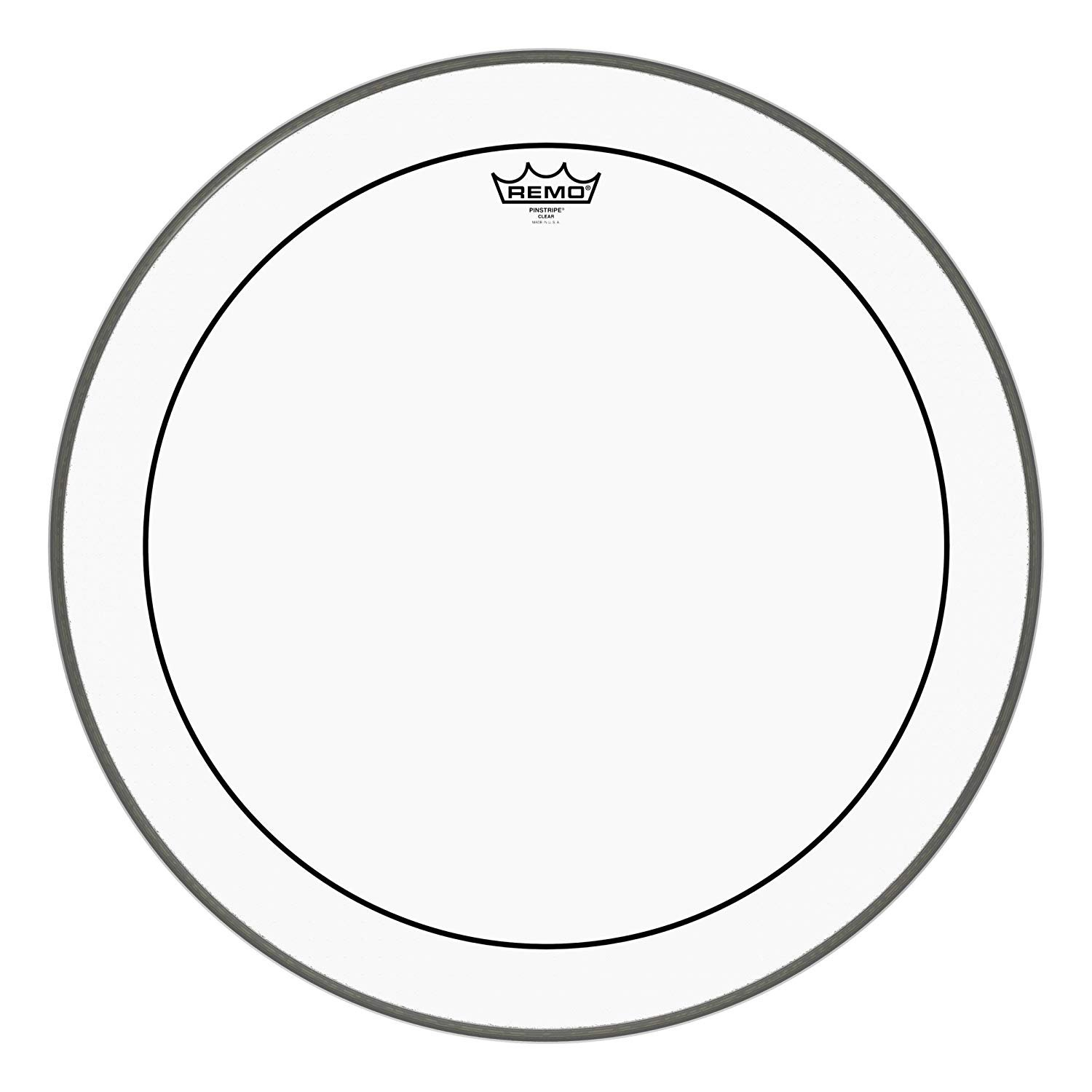 Pinstripes Clear 12in. - Drumhead