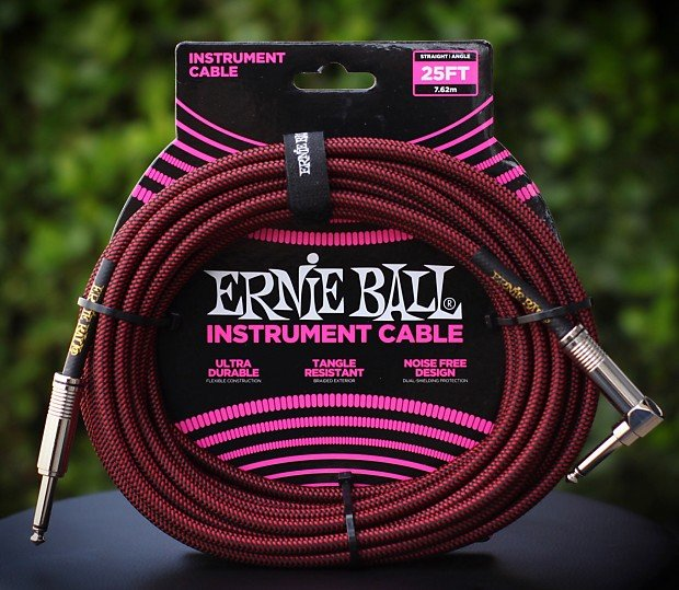 25ft. Instrument Cable-Red