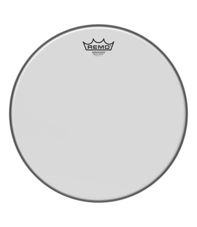 Ambassador Smooth White 22in. Drumhead