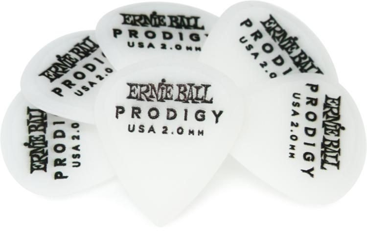 2.0 White Mini Prodigy Picks 6 pk