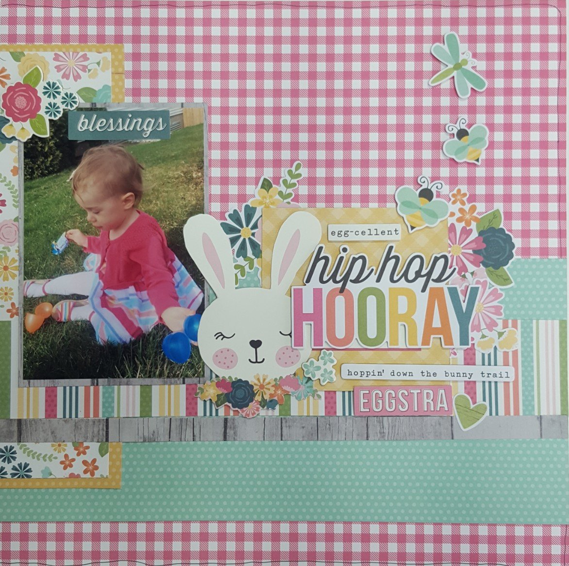 Hip Hop Hooray Layout by Simple Stories
