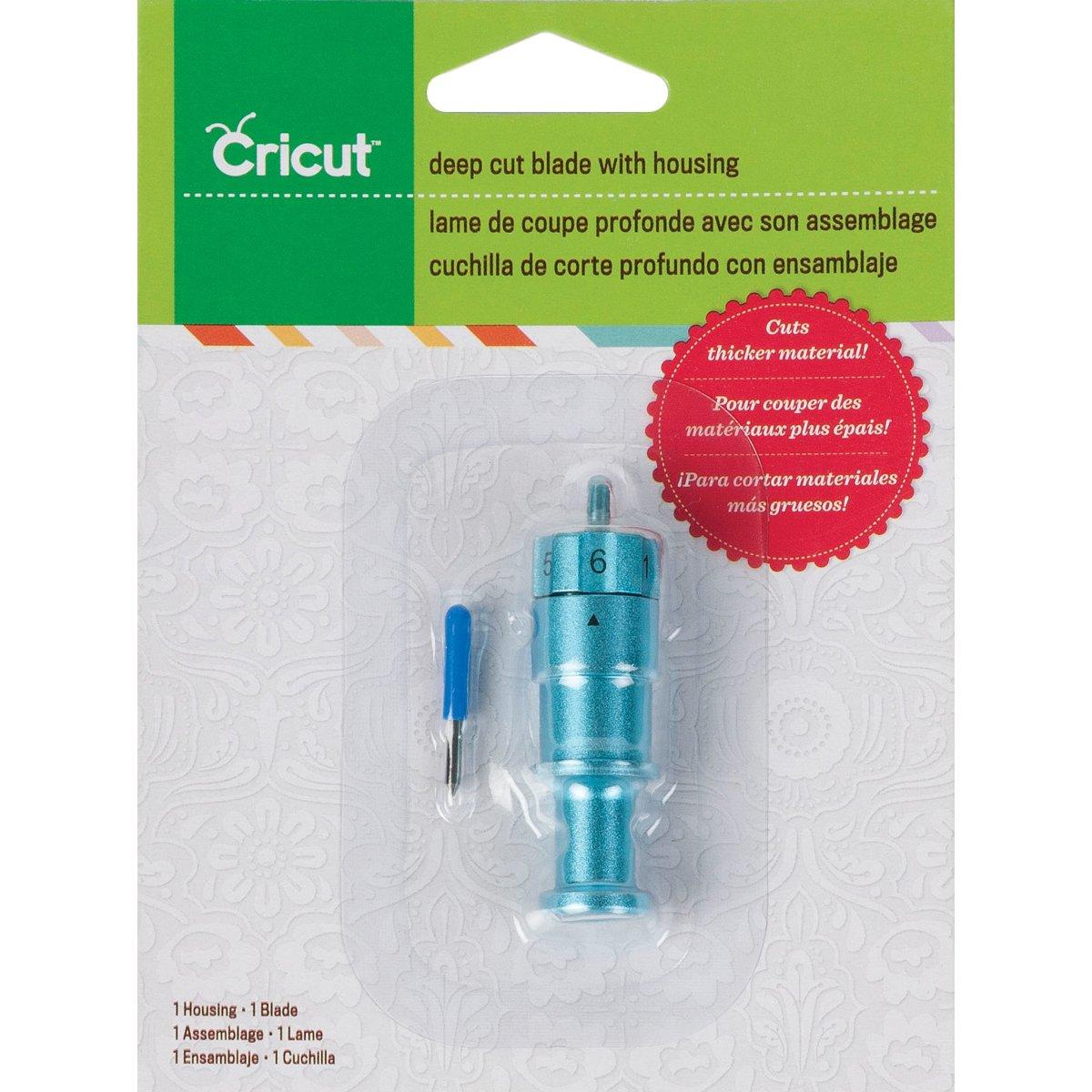 Cricut Deep Cut Blade W/Housing