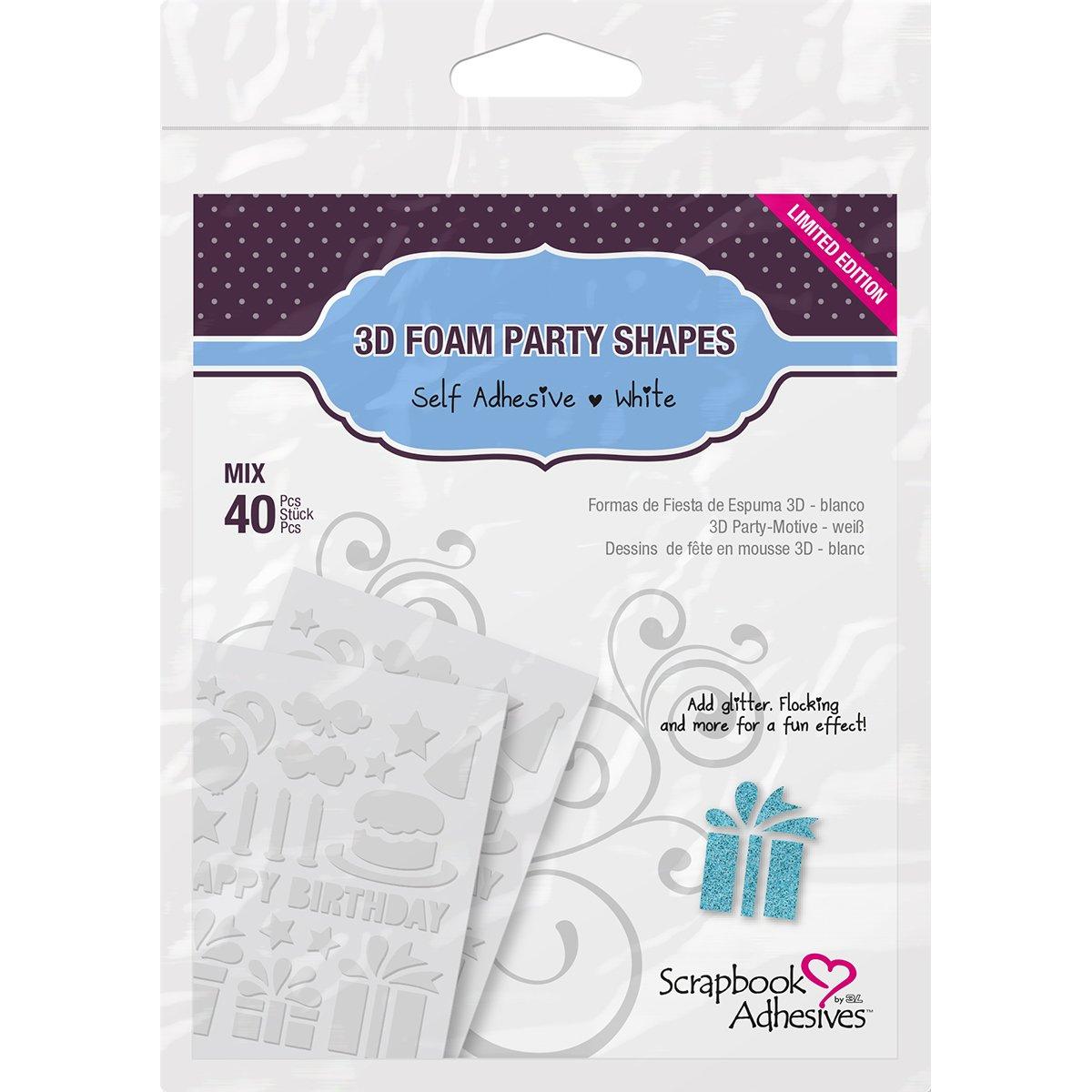 Party shape foam shapes