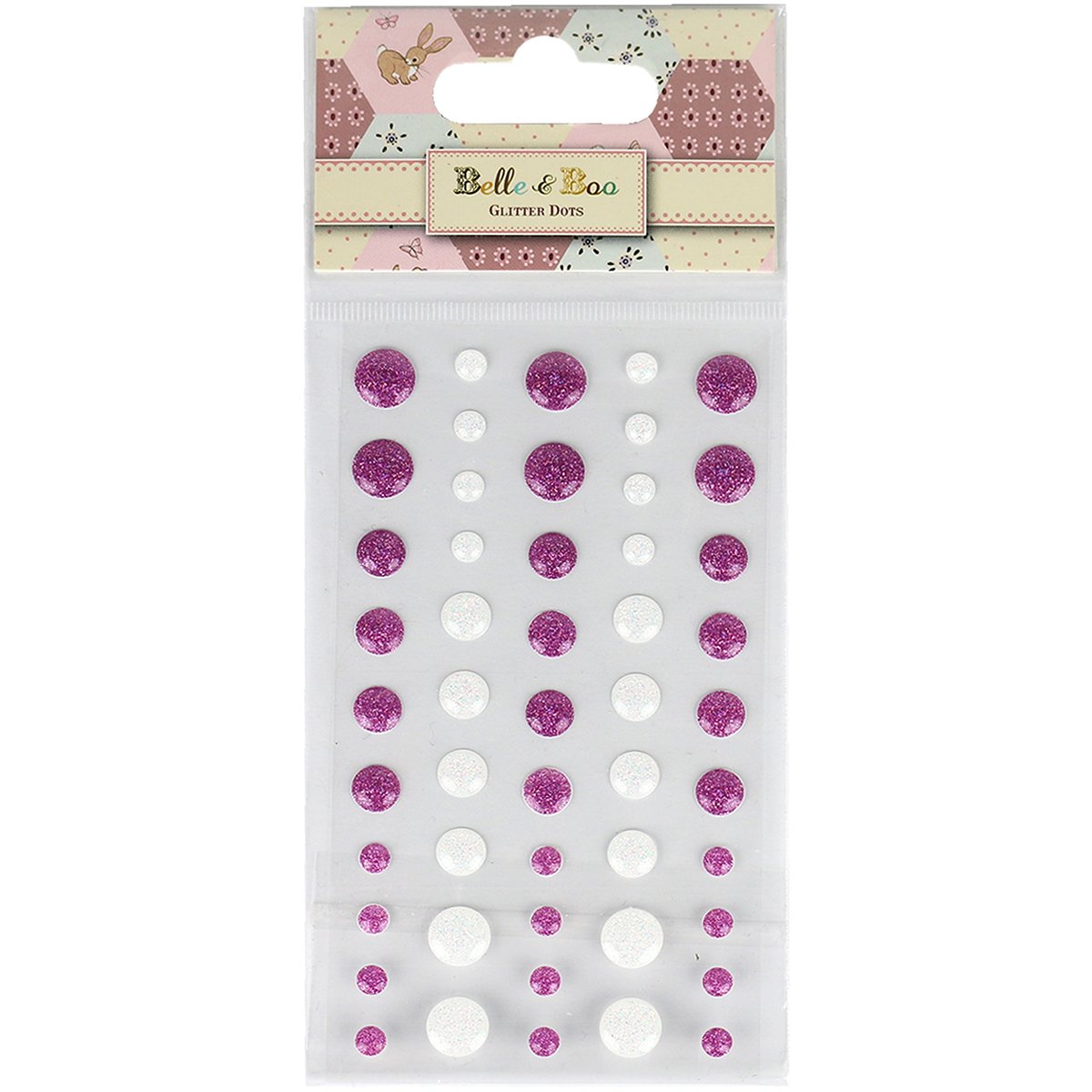 Trimcraft Belle & Boo II Adhesive Enamel Dots