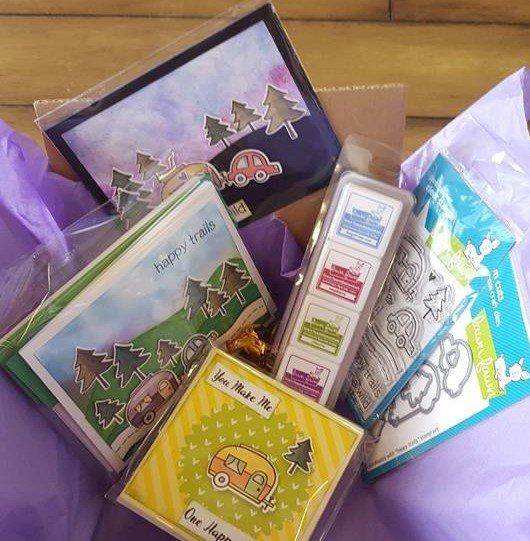 Alfy Lawn Fawn card kit