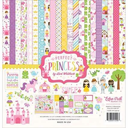 Echo Park Collection Kit 12X12 Perfect Princess