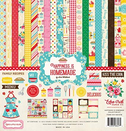 Echo Park Collection Kit 12X12 Happiness is homemade