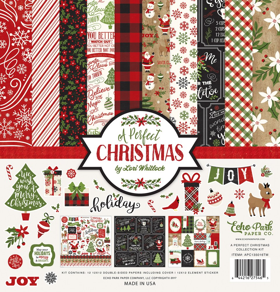 Echo Park A Perfect Christmas Collection Kit