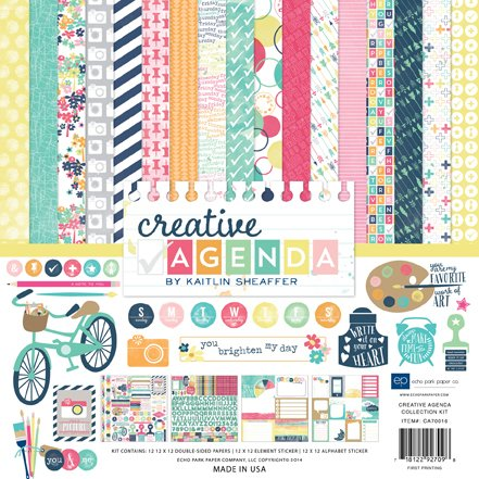 Echo Park kit 12x12 collection Creative Agenda