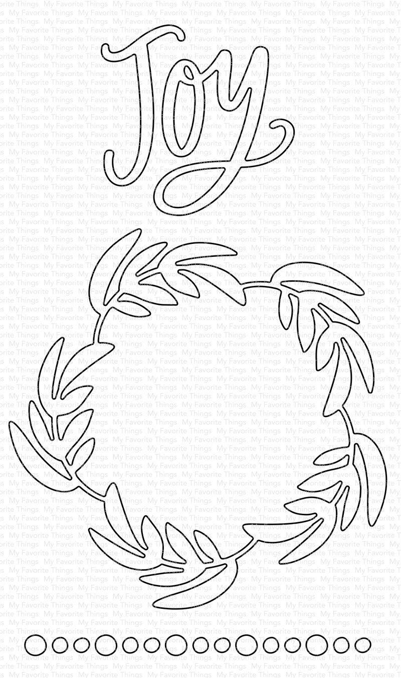 Joyful Wreath Die-namics