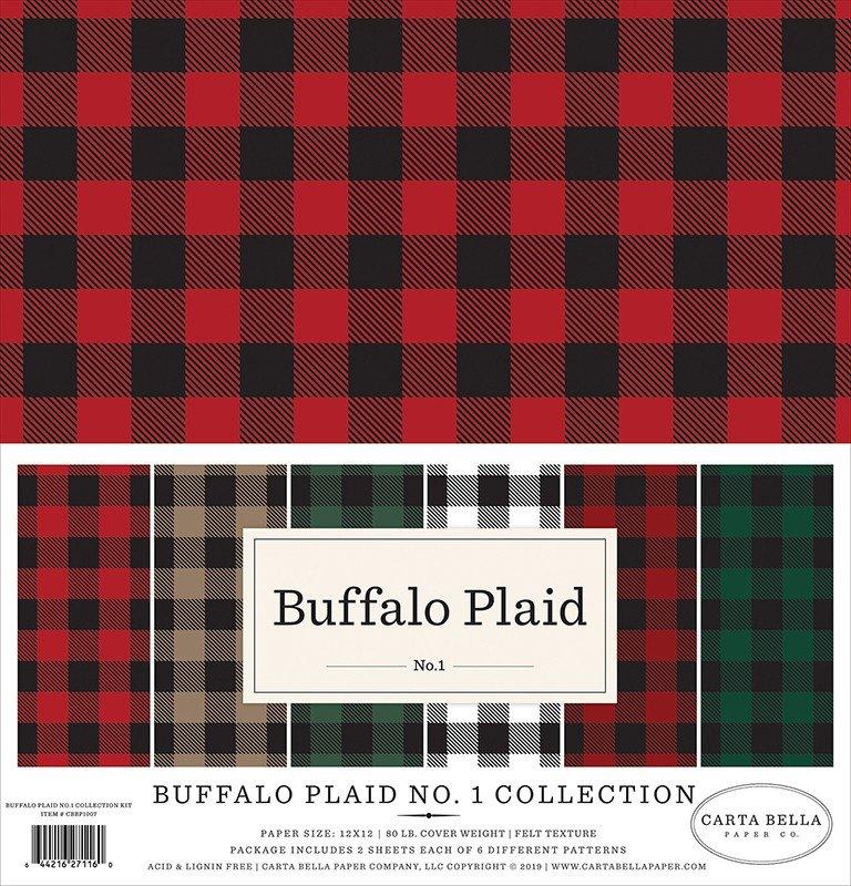 Carta Bella Paper - Buffalo Plaid No. 1 Collection - 12 x 12 Collection Kit