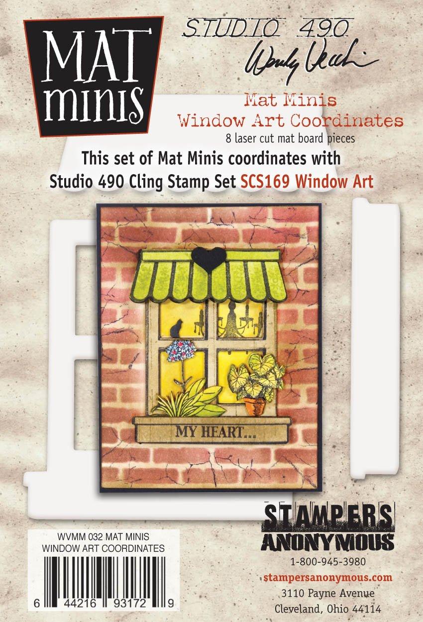 Studio 490 Wendy Vecchi Mat Minis: Window Art