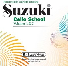 Suzuki Cello School CD
