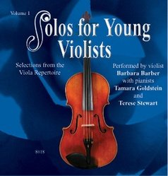 Solos for Young Violists CD