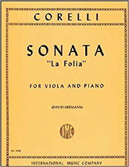 Corelli: Sonata La Follia Op. 5 No.12 Ed. David-Hermann