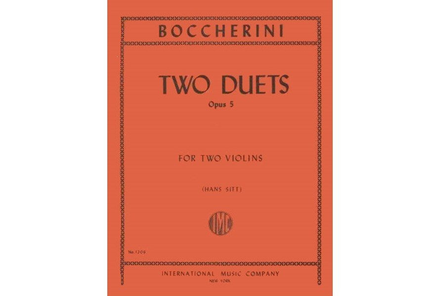 Boccherini: Two Duets Op. 5
