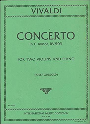 Vivaldi: Concerto In C minor RV 509 Ed. Gingold