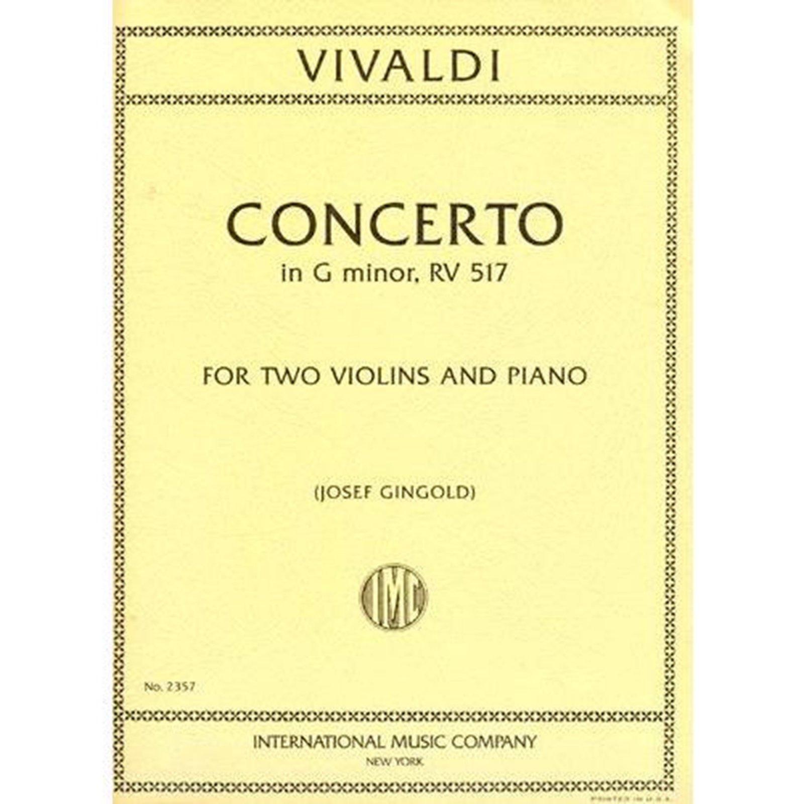 Vivaldi: Concerto In G minor RV 517