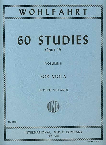 Wohlfahrt: 60 Studies Op. 45 Vol.2 Ed. Vieland