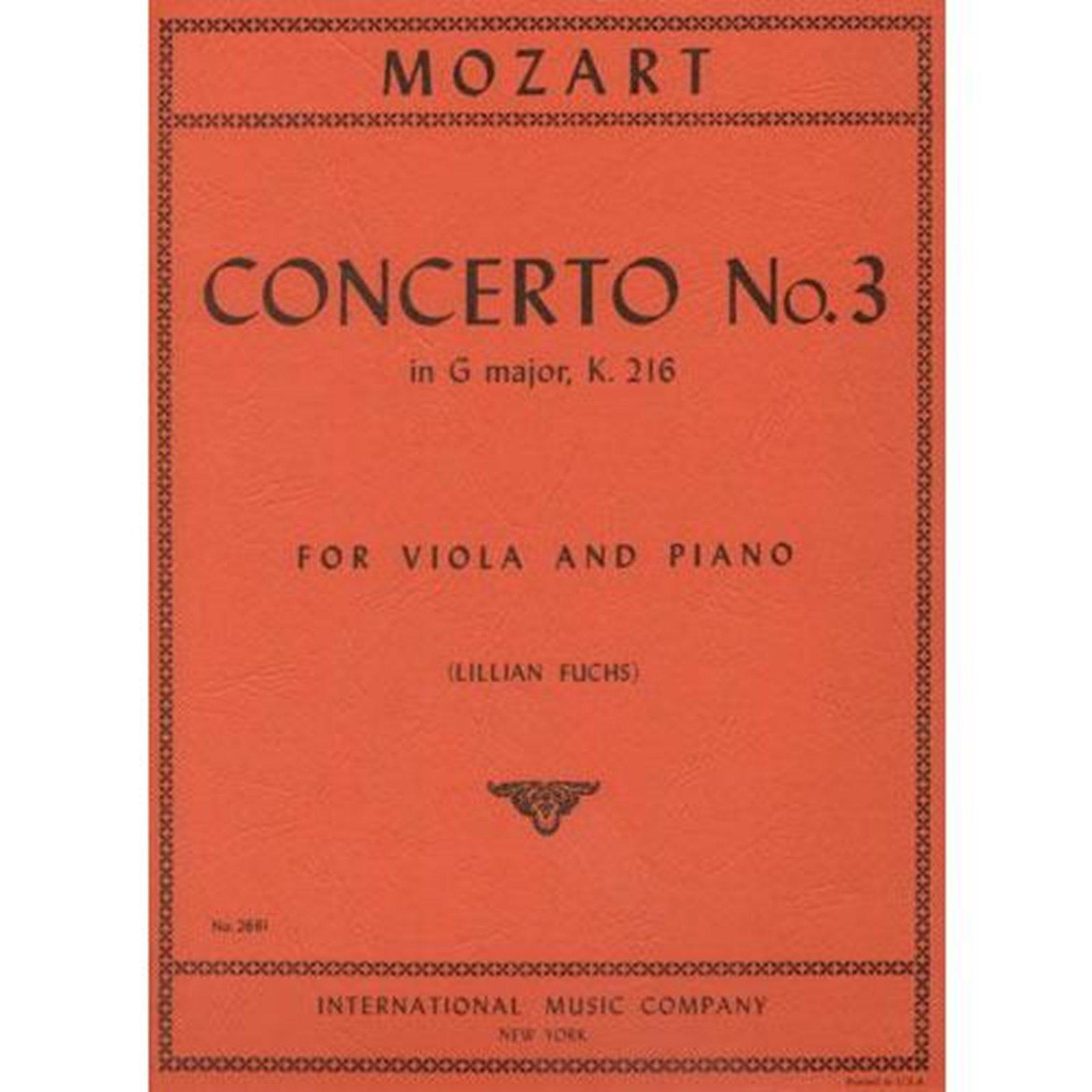 Mozart: Concerto No. 3 In G major K.216 Ed. Francescatti