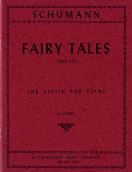 Schumann: Fairy Tales Op. 113 Four Pieces Ed. F. Davis