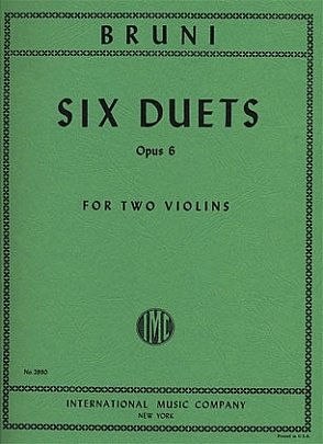 Bruni: Six Duets Op. 6