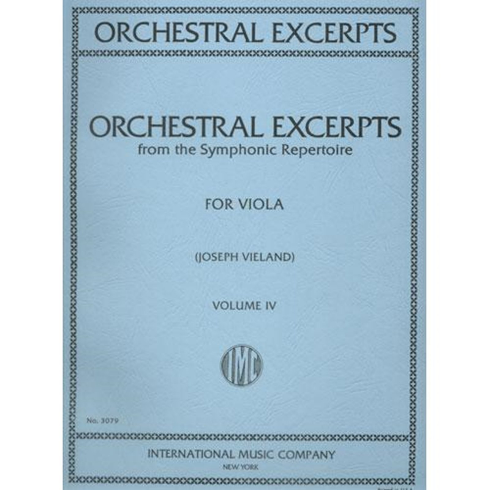 Orchestral Excerpts for Viola Vol. 4