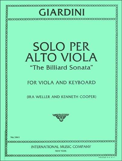 Giardini: Solo Per Alto Viola Ed. Weller-Cooper