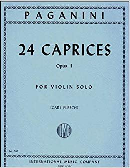 Paganini: 24 Caprices Op.1 Ed. Flesch