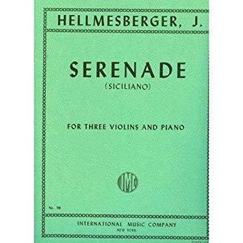 Hellmesberger: Serenade