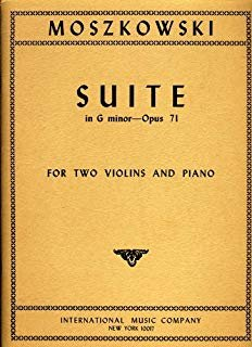 Moszkowski: Suite Op. 71 Ed.Lyman