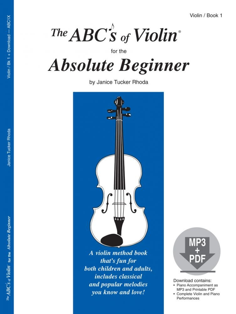 The ABC's of Violin, by Janice Tucker Rhoda