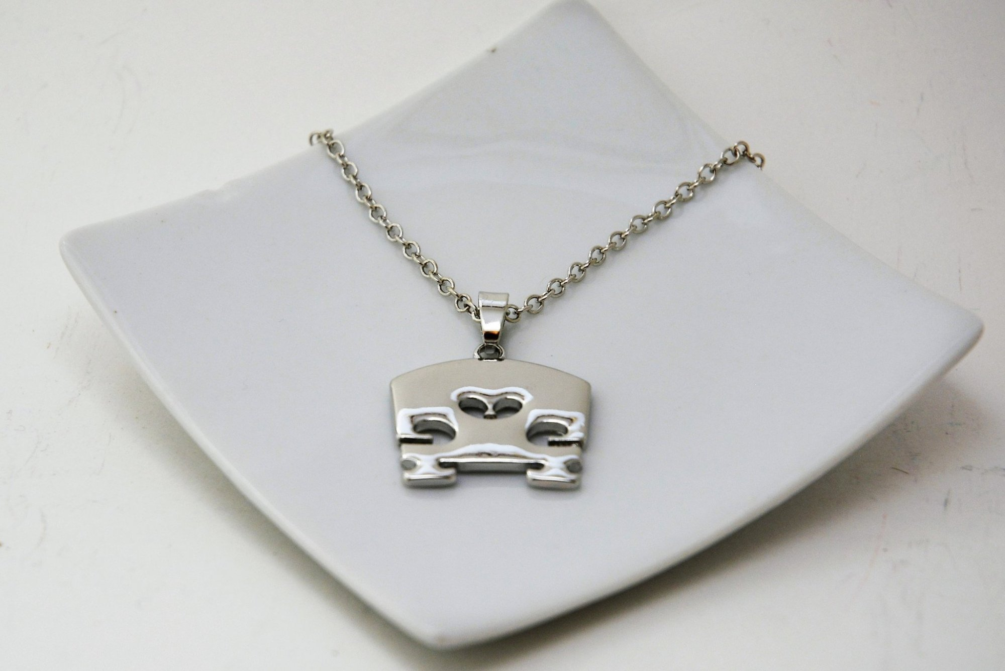 Bridge Pendant Necklace