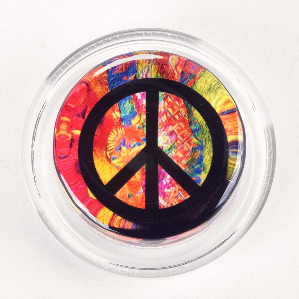 Groovy Peace Symbol Magic Rosin