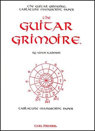 The Guitar Grimoire-Tablature Manuscript Paper