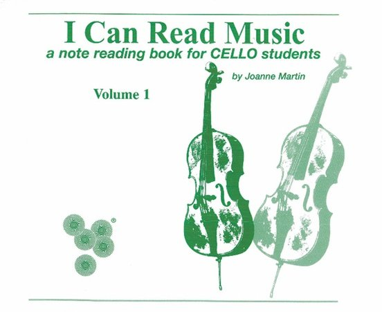 I Can Read Music, a note reading book for Cello students, by Joanne Martin