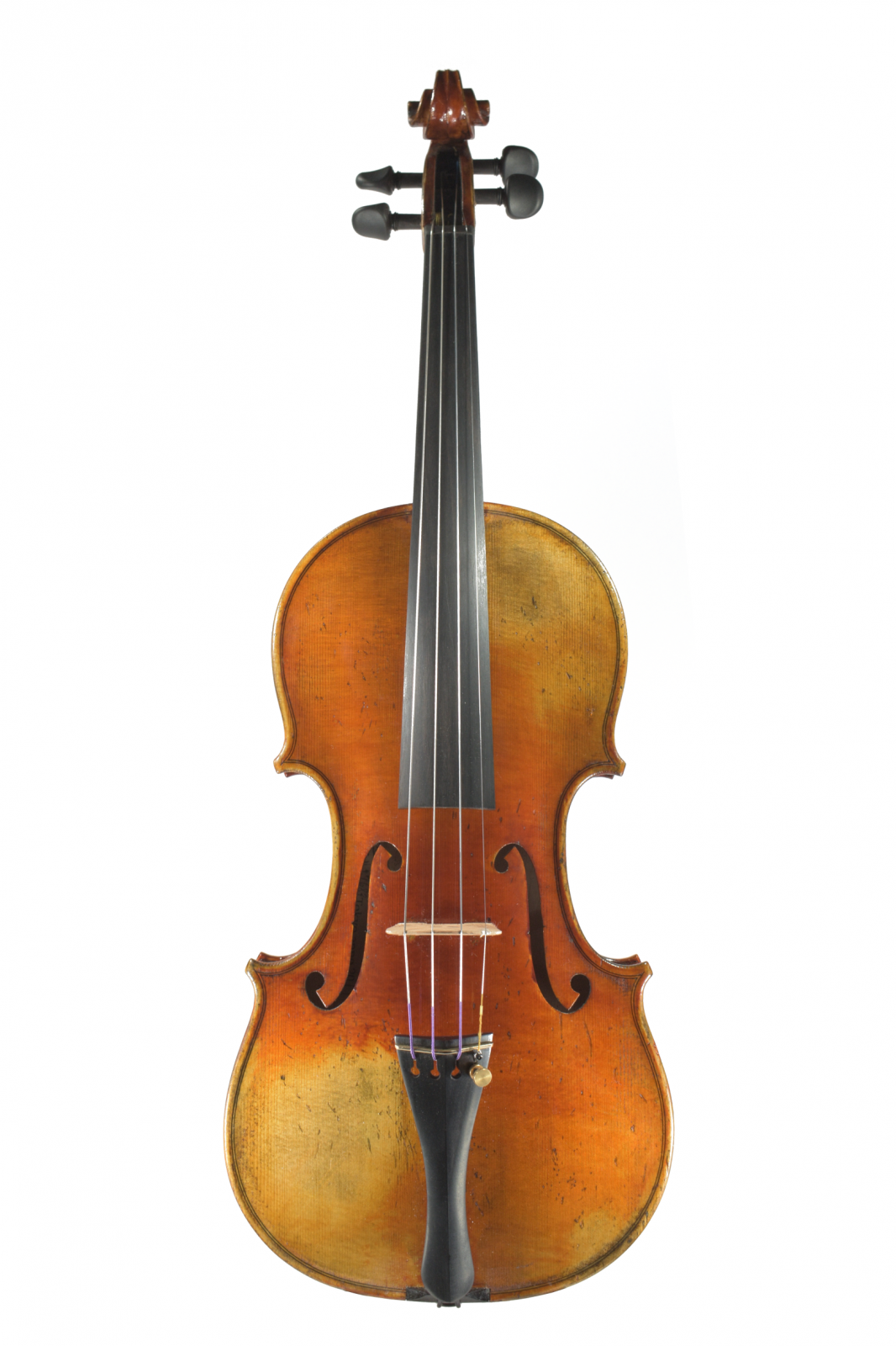 Violin labeled Hiroshi Kono