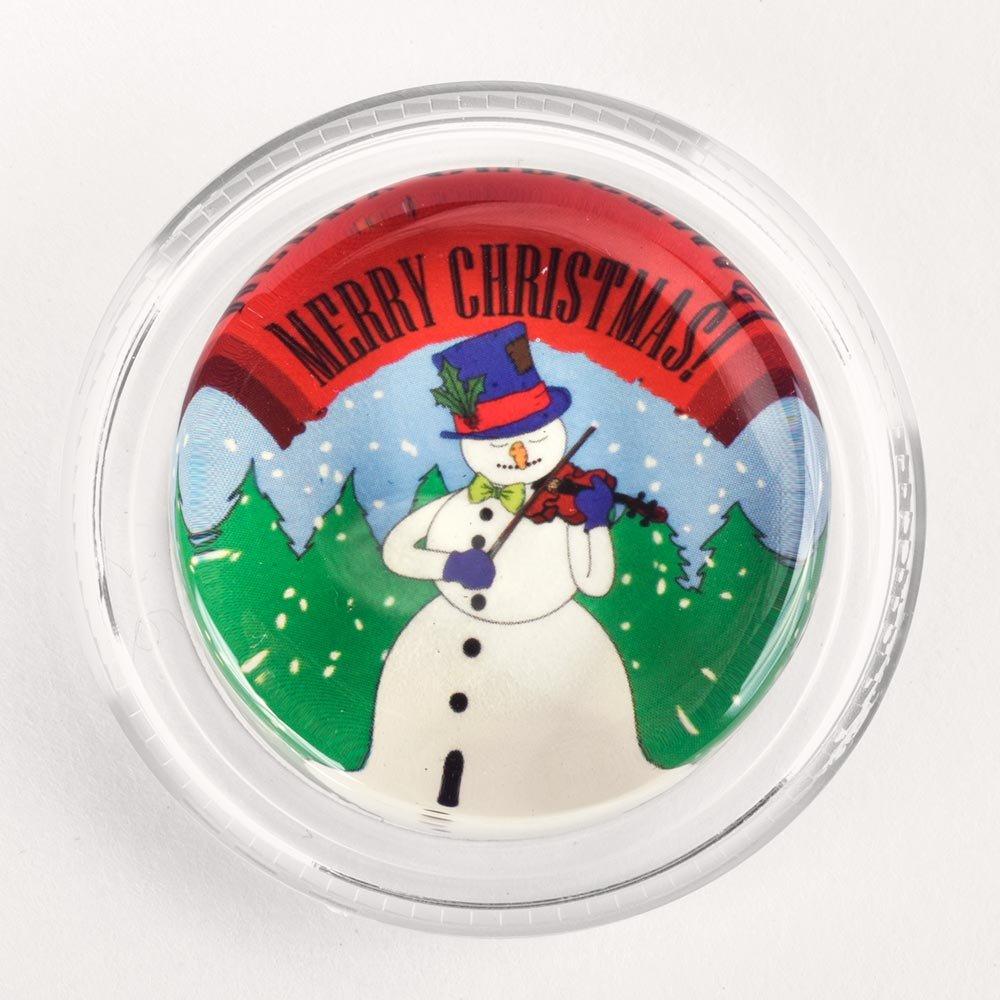 Merry Christmas Snowman Violin Magic Rosin