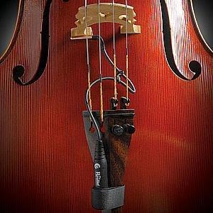 The Realist Copperhead under-the-bridge Cello Pickup