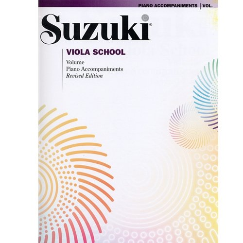 Suzuki Viola School Piano Accompaniment